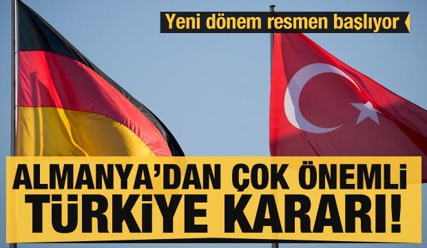 Almanya'dan son dakika Türkiye kararı! 'Bu Türk hükümetinin aldığı çok doğru kararın bir sonucu'