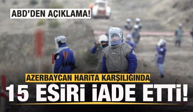 Azerbaycan, harita karşılığında 15 Ermeni esiri iade etti