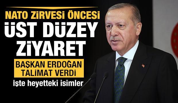 Başkan Erdoğan talimat verdi, üst düzey bir heyet Libya'ya gidiyor