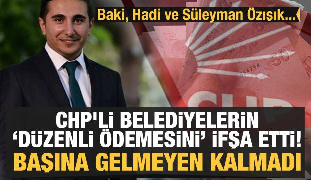 CHP'li belediyenin 'düzenli ödemesini' ifşa edince kovuldu: Hadi Özışık ve Süleyman Özışık'a...