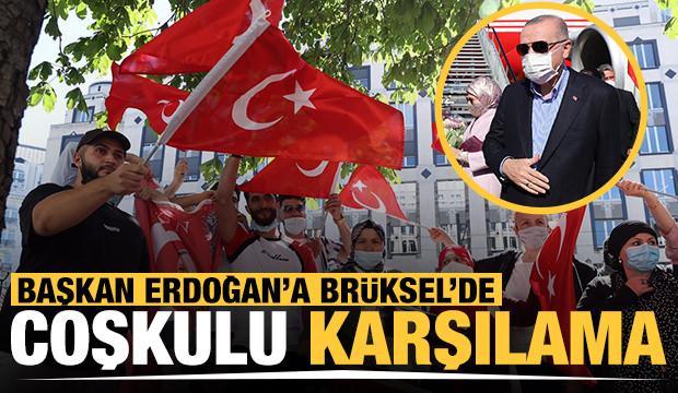 Cumhurbaşkanı Erdoğan NATO Zirvesi için Belçika'da