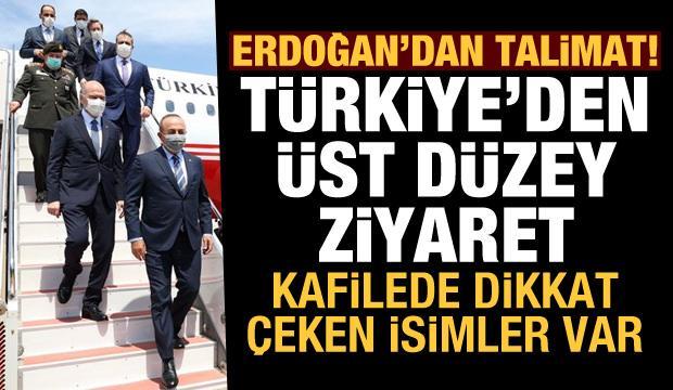 Erdoğan talimat verdi! Türkiye'den dikkat çeken isimlerle Libya'ya üst düzey çıkarma