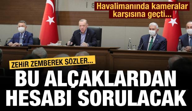 Erdoğan'dan çok sert Afrin tepkisi: Hesabı sorulacak!