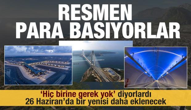 """Resmen para basıyorlar! """"Hiç birine gerek yok"""" demişlerdi! Kanal İstanbul gerçekleri..."""