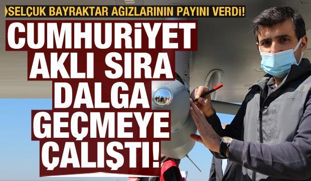 Selçuk Bayraktar'dan Cumhuriyet'e Fuat Oktay tepkisi
