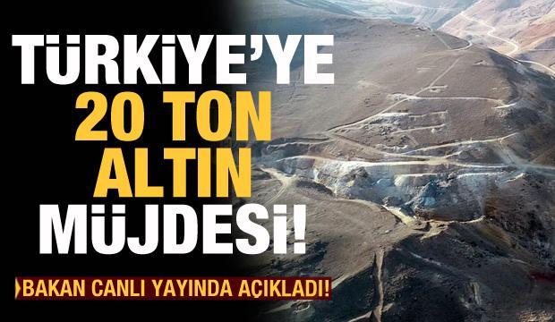 Türkiye'ye 20 ton altın müjdesi! Bakan Varank açıkladı