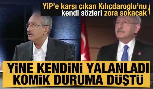 Yine kendini yalanladı, komik duruma düştü! YİP'e karşı çıkan Kılıçdaroğlu'nu kendi sözleri zora sokacak