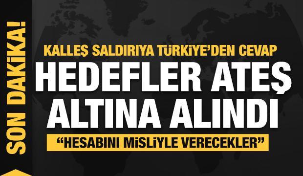 Zeytin Dalı Harekâtı bölgesine peş peşe füze saldırısı: Çok sayıda ölü ve yaralı var