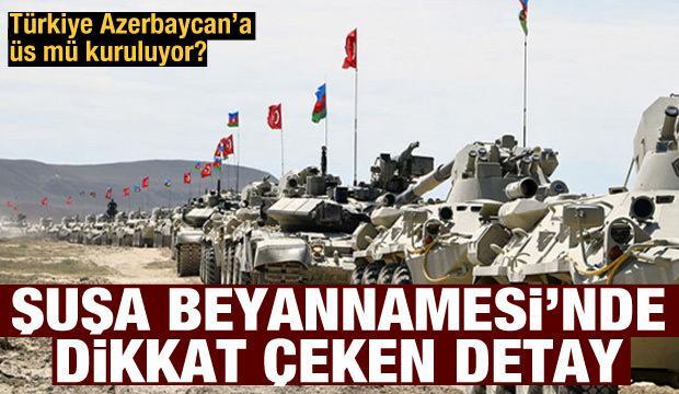 Azerbaycan'a askeri üs kurulmalı mı?