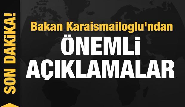 Bakan Karaismailoglu'ndan önemli açıklamalar