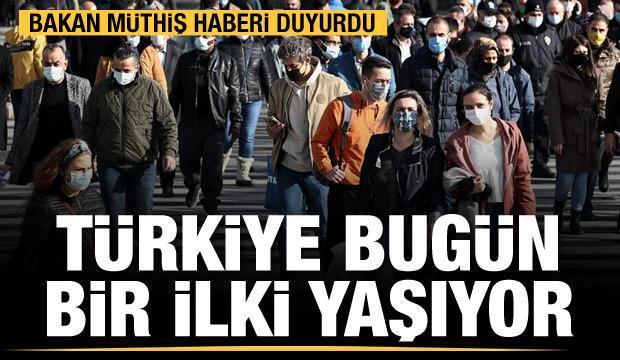 Bakan Koca duyurdu! Türkiye'de bir ilk.