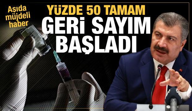 Bakan Koca'dan aşı açıklaması: Geri sayım başladı