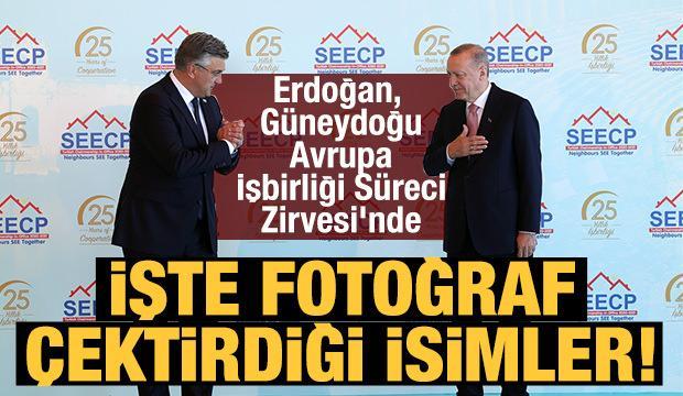 Başkan Erdoğan, Güneydoğu Avrupa İşbirliği Süreci Zirvesi'ne katıldı