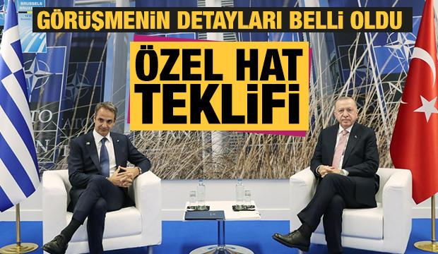 Başkan Erdoğan, Miçotakis'le görüşmenin detaylarını açıkladı