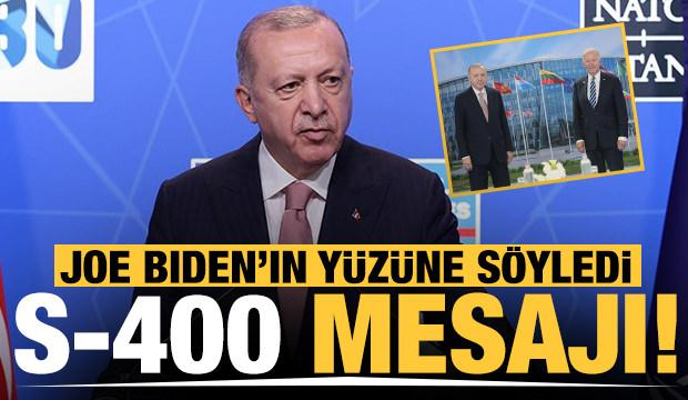 Başkan Erdoğan'dan Joe Biden'la görüşme sonrası önemli açıklamalar