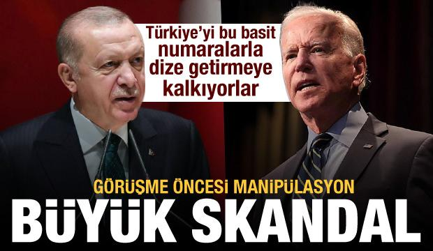 Bloomberg'den Biden-Erdoğan görüşmesi öncesi manipülasyon