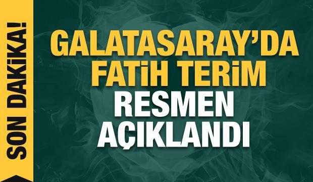 Burak Elmas, Fatih Terim'i resmen duyurdu!