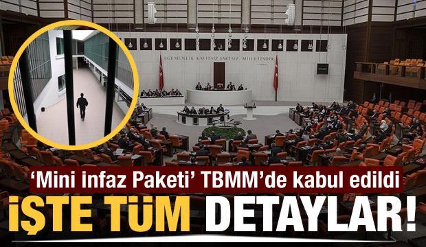 Ceza ve İnfaz yasası TBMM'de kabul edildi! Yeni dönemde ne olacak?