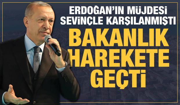 Erdoğan talimat vermişti, Bakanlık Burhaniye'de kentsel dönüşüm için harekete geçti