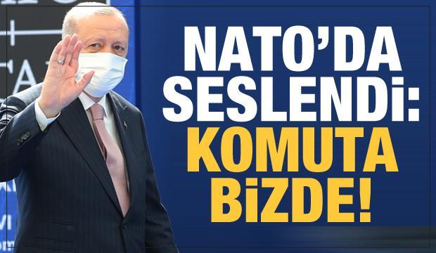 Erdoğan'dan NATO'da son dakika mesajları: Komuta Türkiye'de...