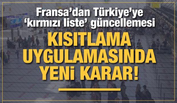 Fransa'nın Türkiye'ye uyguladığı seyahat yasağı için yeni karar!