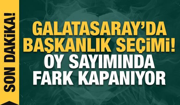 Galatasaray başkanını seçiyor! CANLI