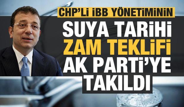 İstanbul'da İSKİ'nin zam teklifi AK Partili üyeler tarafından reddedildi