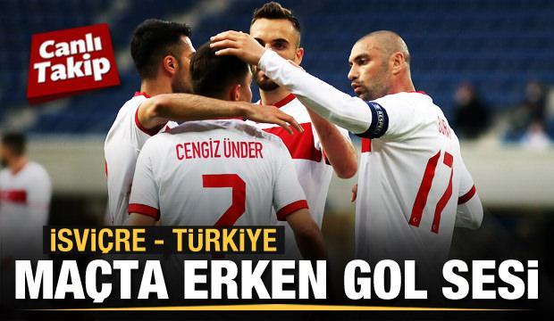 İsviçre - Türkiye! CANLI
