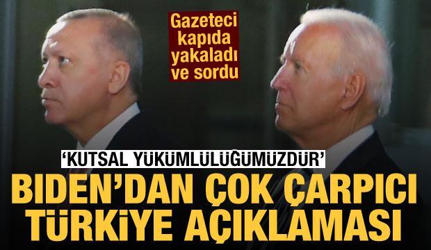 Joe Biden: Türkiye'nin savunulması kutsal bir yükümlülüktür