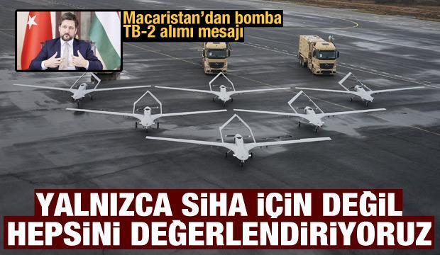 Macaristan'dan Türkiye ile SİHA alımı açıklaması