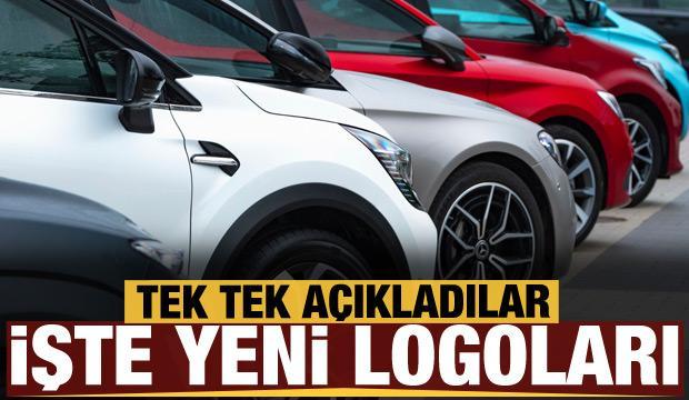 Otomobil devleri logosunu değiştirdi! İşte yeni tasarımları...