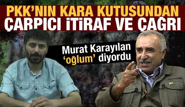 PKK'nın kara kutusundan çarpıcı itiraflar ve 'teslim olun' çağrısı