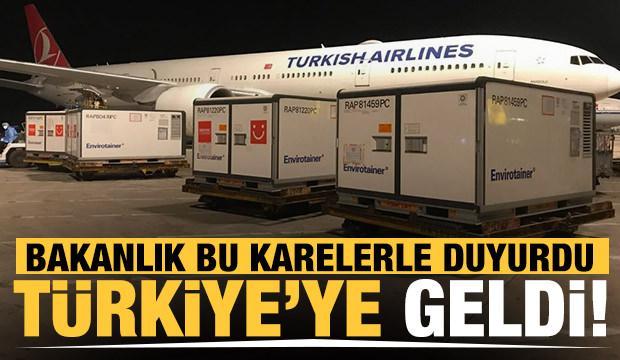 Son Dakika... 5 milyon doz Sinovac aşısı Türkiye'ye geldi