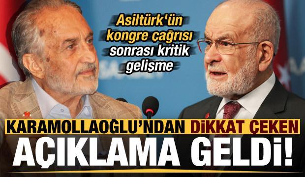 Son dakika: Oğuzhan Asiltürk'ün çağrısı sonrası Karamollaoğlu'ndan dikkat çeken açıklama!