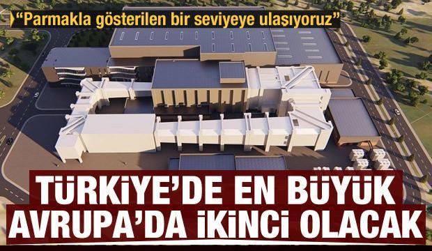 Türkiye'de en büyük, Avrupa'da ikinci! Yapımı başladı