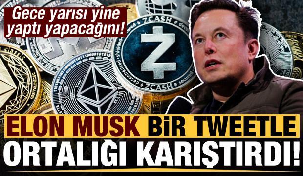 Yine yaptı yapacağını! Elon Musk bir tweetle ortalığı karıştırdı