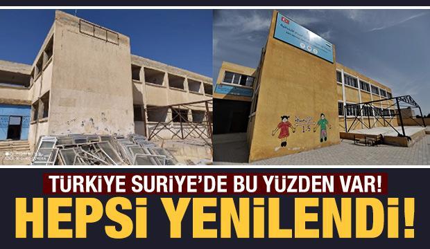 YPG/PKK'dan temizlenen Tel Abyad'da çocuklar geleceğe umutla bakıyor!