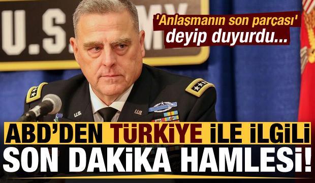 ABD'den Türkiye ilgili son dakika hamlesi! 'Anlaşmanın son parçası' deyip duyurdu...