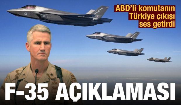 ABD'li komutandan F-35 açıklaması: Alınan Türkiye kararı kurallara aykırı