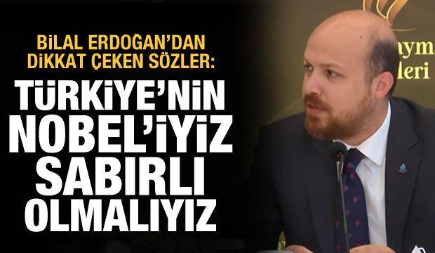 Bilal Erdoğan: İlim Yayma Ödülleri Türkiye'nin Nobel'i