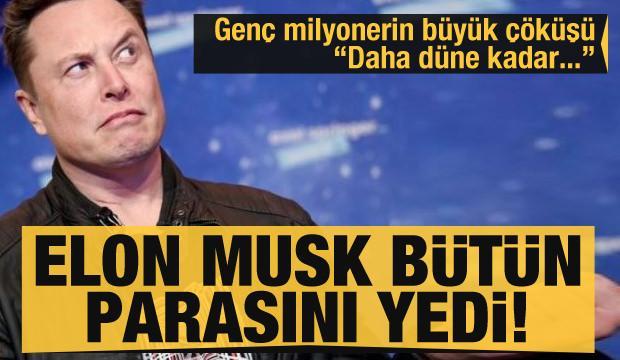Elon Musk Contessoto'nun bütün parasını yedi! 'Daha düne kadar milyonerdim...'