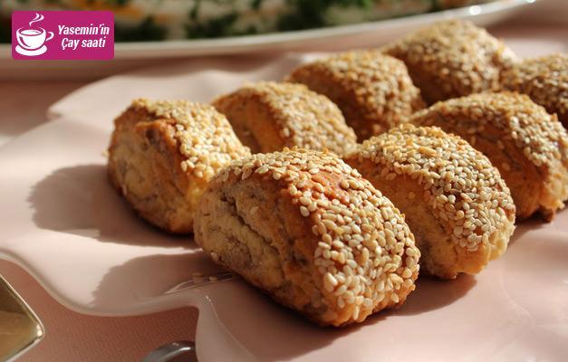 En kolay susamlı kurabiye nasıl yapılır?
