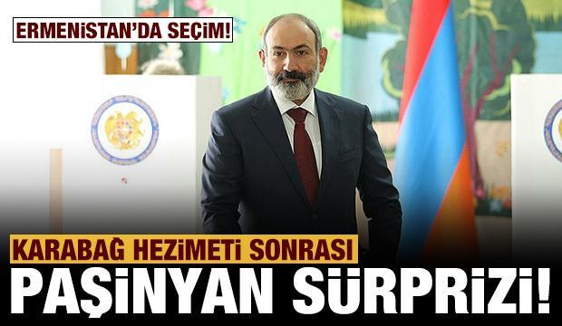 Karabağ hezimeti sonrası Ermenistan seçimlerinde Paşinyan sürprizi!