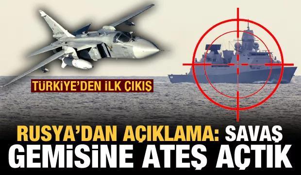 Karadeniz'de sıcak saatler! Rusya: İngiliz donanmasına ateş açtık! Türkiye'den açıklama