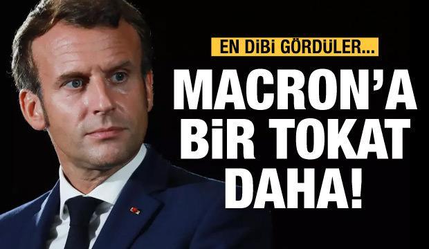 Macron'a bir tokat da sandıkta!
