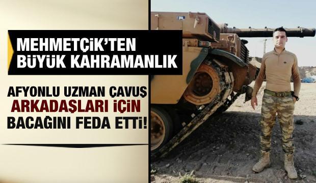 Mehmetçik'ten büyük kahramanlık: Drone ile atılan bombayı fark edince bunu yaptı