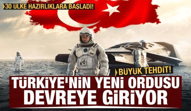 Stratejik tehdide karşı hamle! Türkiye'nin yeni ordusu devreye giriyor