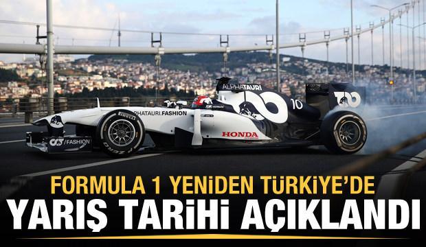 Tarih belli oldu! Formula 1 yeniden Türkiye'de
