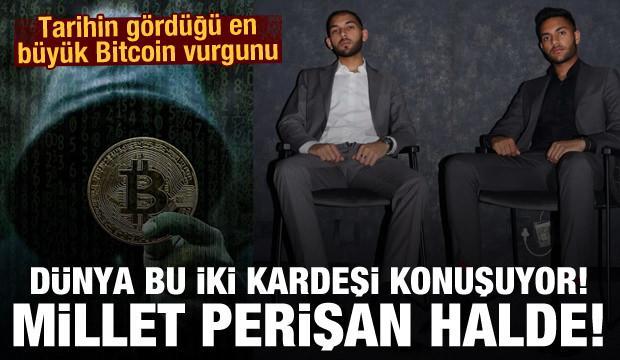 İki kardeşten tarihin gördüğü en büyük Bitcoin vurgunu
