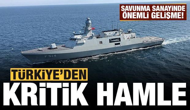 Türkiye atağa geçti: Savunma sanayinde kritik hamle!